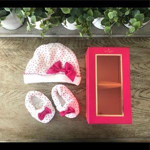 Kate Spade Infant Hat & Footies
